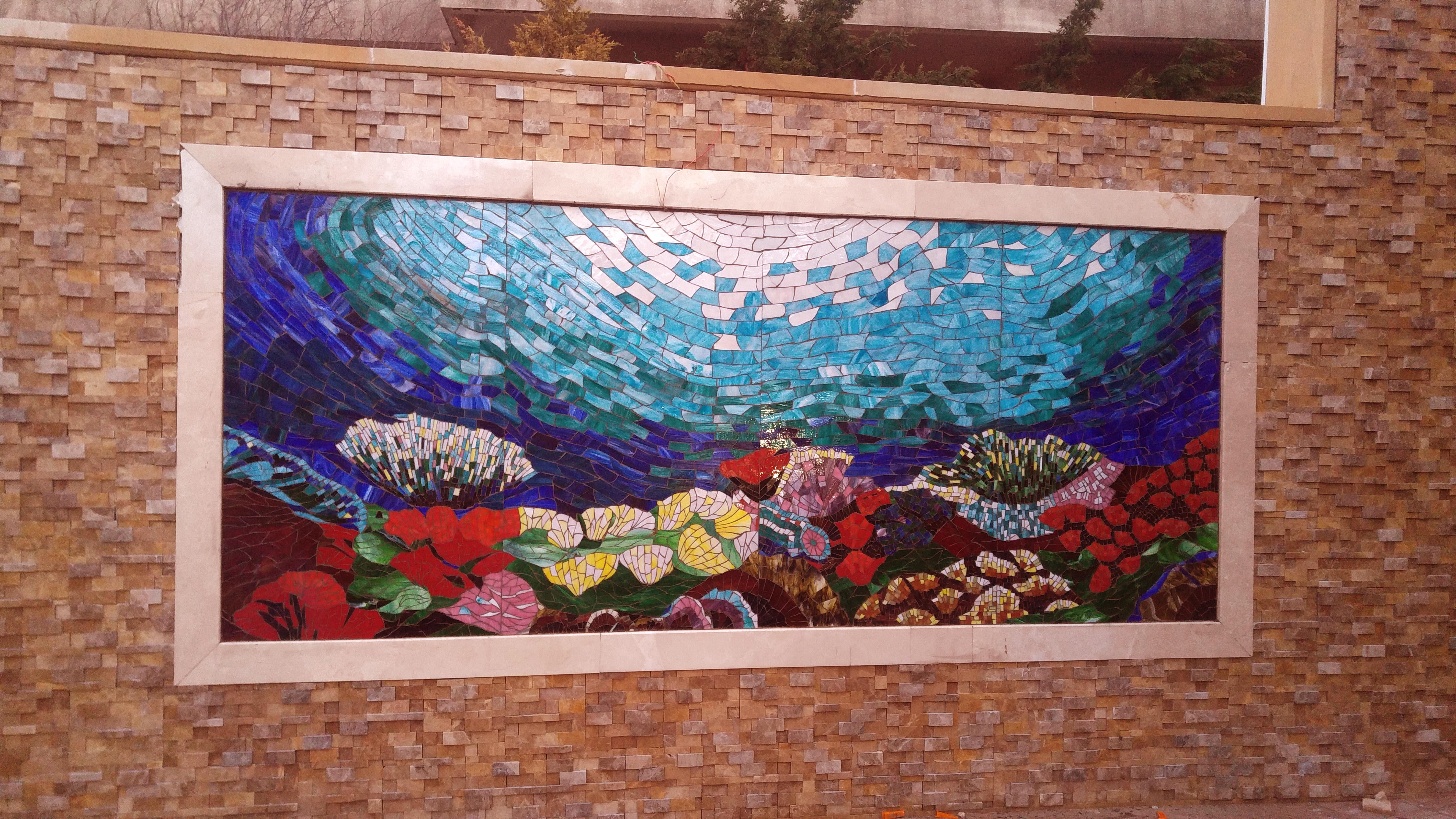 mozaik deniz altı