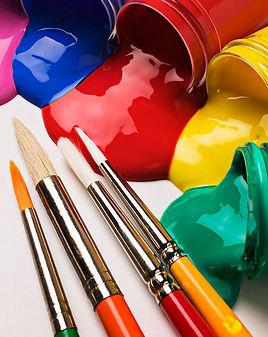Öğrenciler için akrilik boyalar