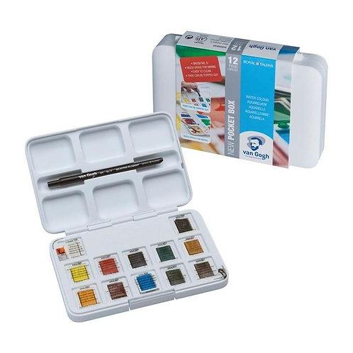 Van Gogh Tablet Suluboya 12+3
