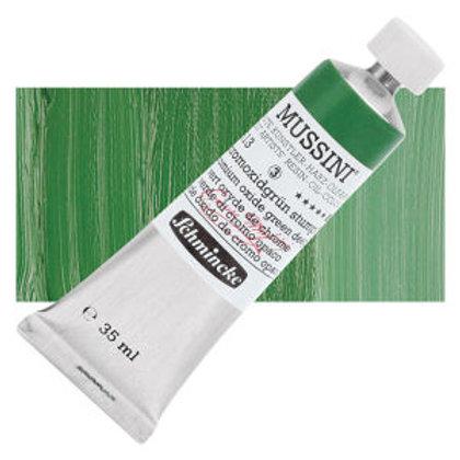 Schmincke Mussini 719 Chromium Oxide Green Deep