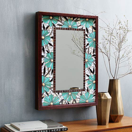 Mozaik Desenli Ayna-240 TL
