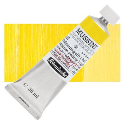 Schmincke Mussini 419 Cadmium Yellow Light