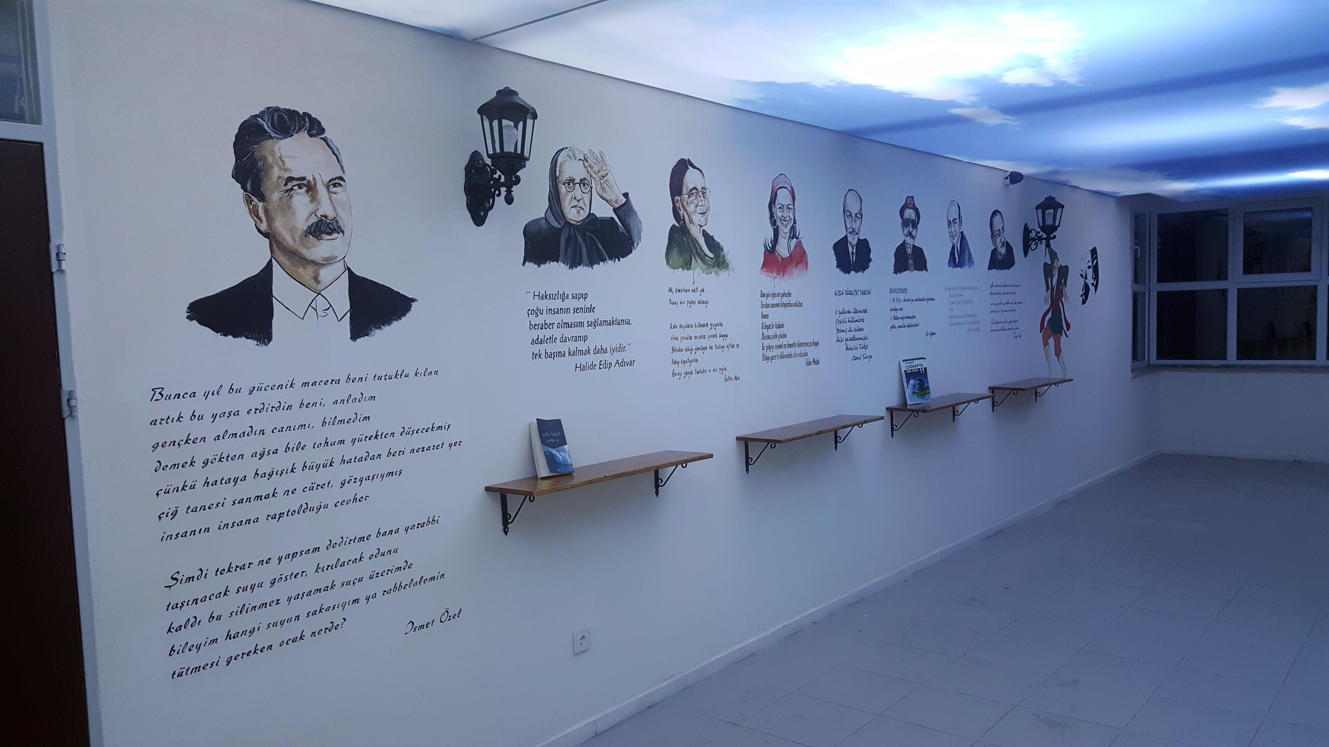 duvar resimleme