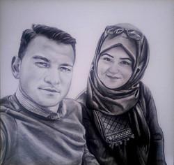 karakalem portre