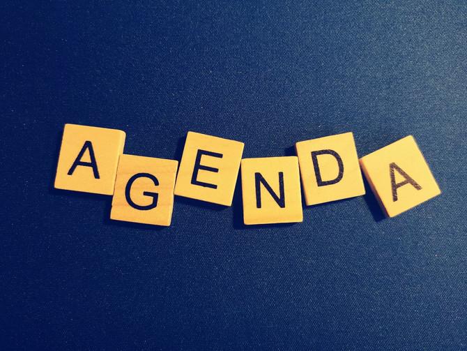 Agenda second semestre 2021