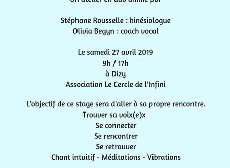 Agenda : salons, stages et master-class avril et mai...