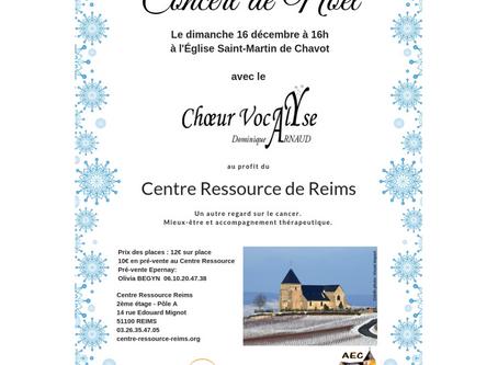 Concert de Noël pour le Centre Ressource de Reims