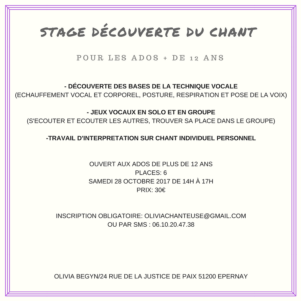 Flyer stage ado
