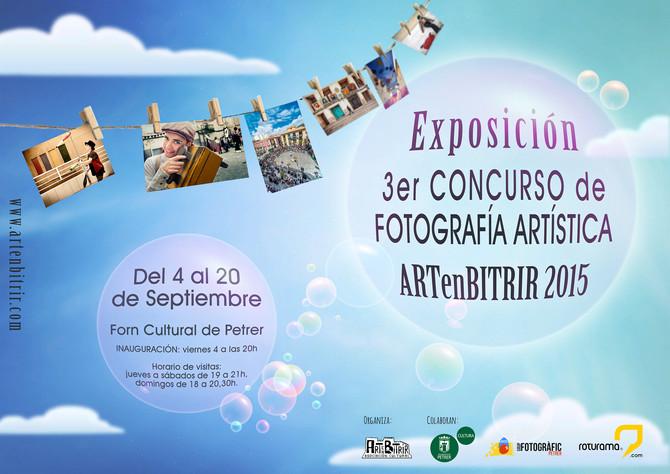 Exposición 3er Concurso de Fotografía Artística ARTenBITRIR 2015