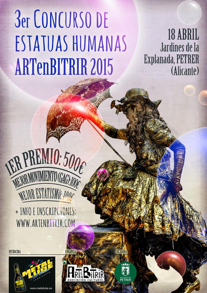 3er Concurso de Estatuas Humanas ARTenBITRIR 2015