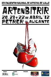 cartel artenbitrir 2012