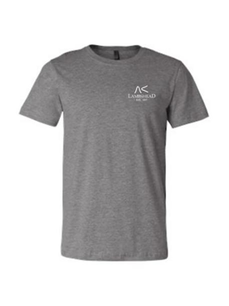 Heather Gray Lambshead Logo T-Shirt