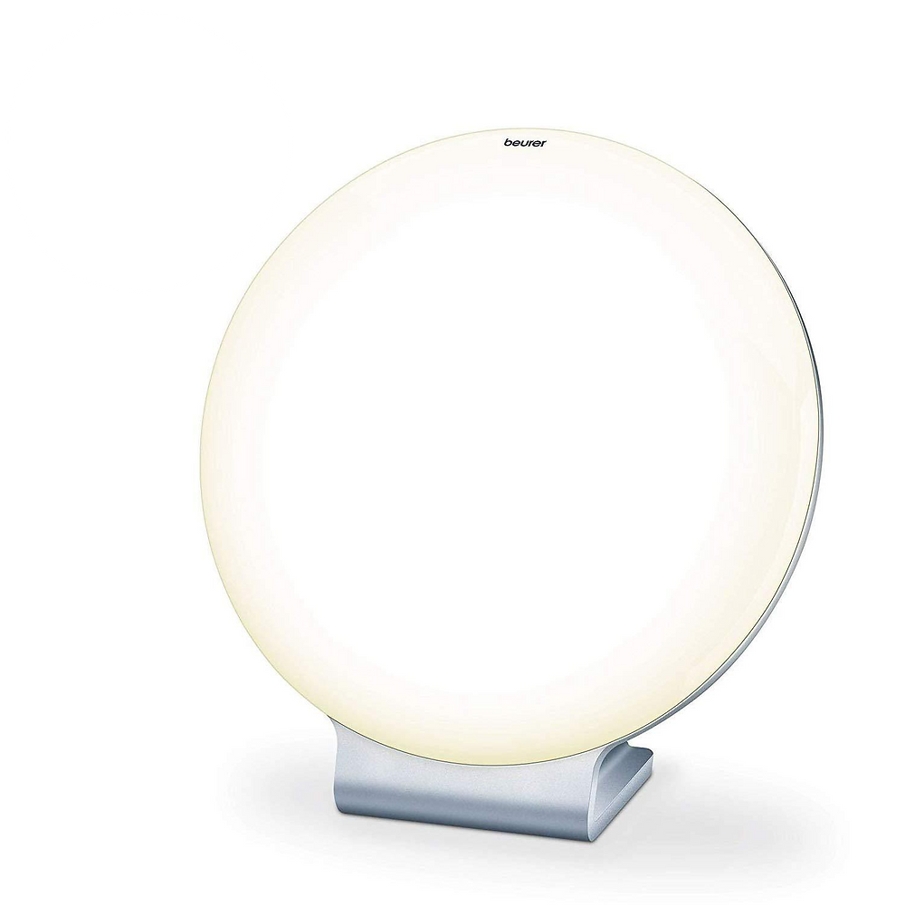 Daylight lamp for light therapy. Combats seasonal depression and seasonal affective disorder. Elevates mood so you feel more energetic and happy.