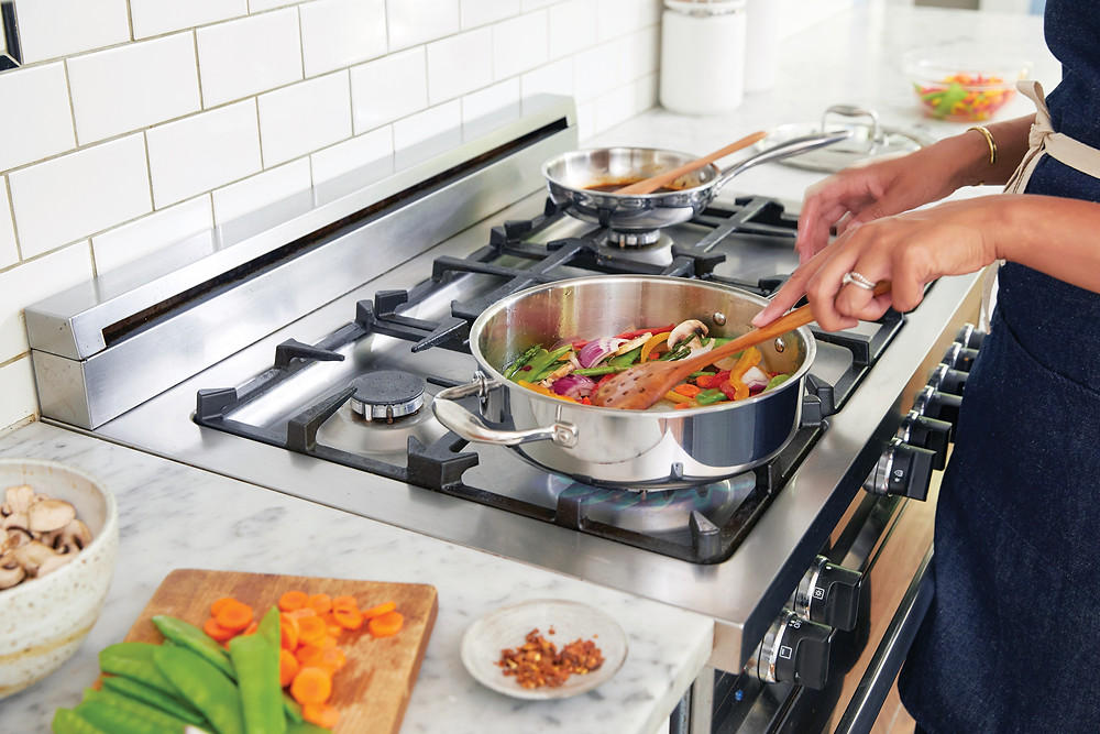 Cooking healthy at home