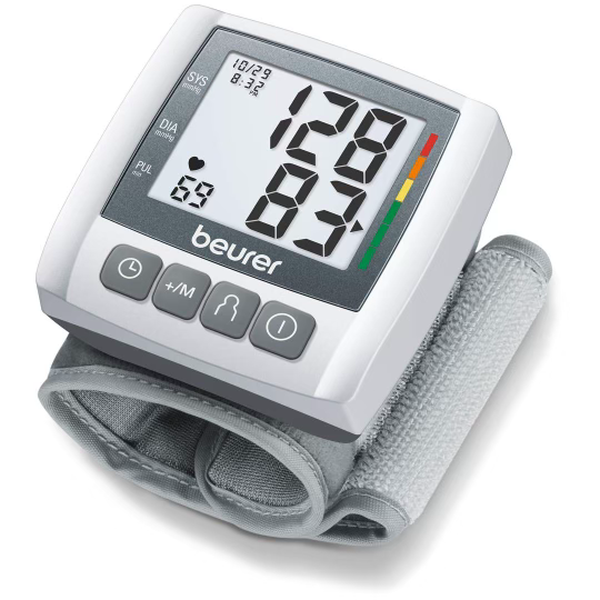 top-rated wrist blood pressure monitor so you can track your health right from home or on the go. Easy and painless gives you accurate results fast