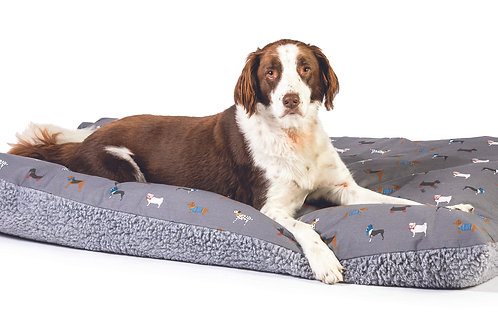 Marching Dogs Deep Duvet by FatFace