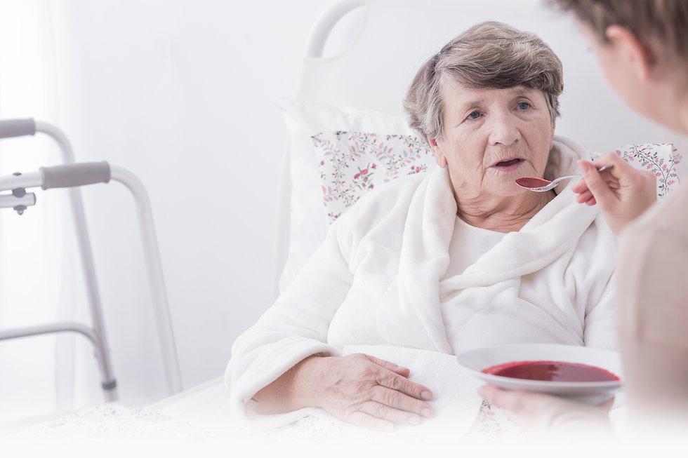 Полный уход за лежачими больными, пожилы