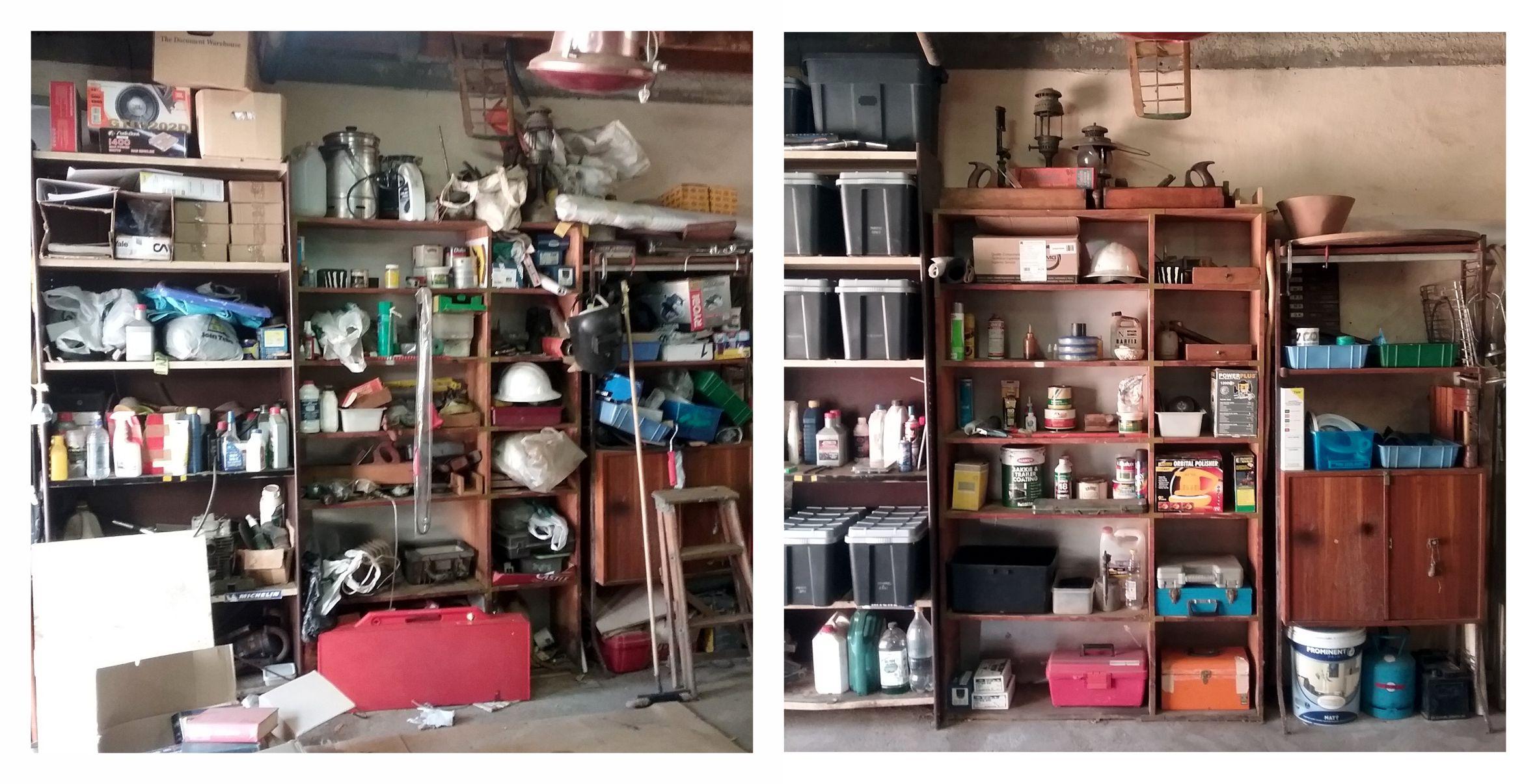 CYC Garage Organising
