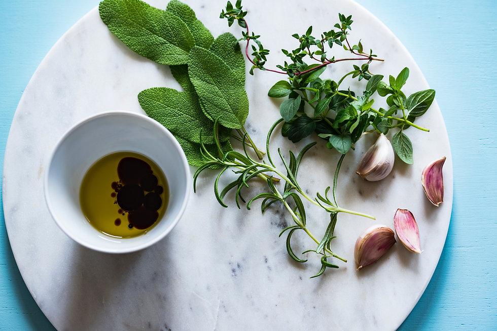 Ervas e condimento
