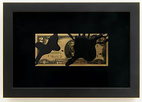 14.-Avelino Sala Black Rain $2 dollar, 2