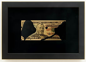 12.-Avelino Sala Black Rain $50 dollar,