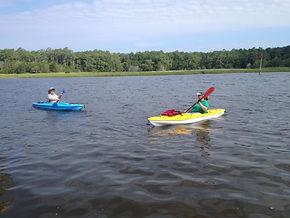 Oak Island Hourly Kayak Rentals