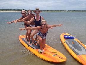 Kayak SUP Oak Island Beach Party Group Rentals