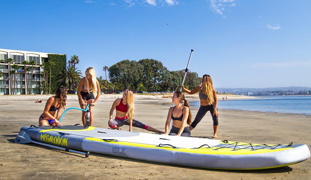 Oak Island Standup Paddle Board Rentals