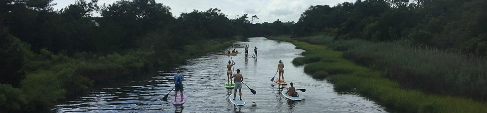 Oak Island Stand Up Paddle Yoga