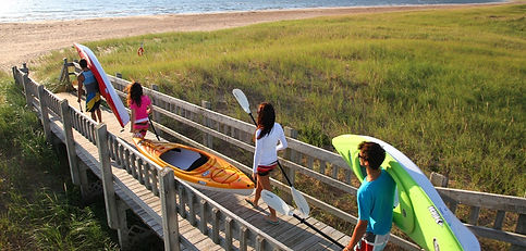 How to Ocean Kayak Rentals Oak Island Beach