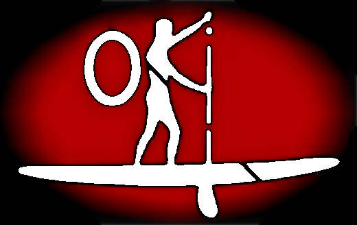 The Original paddleOKI Logo