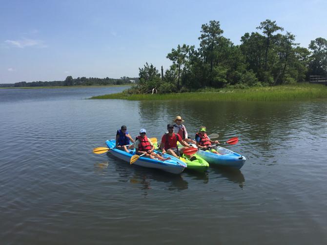 Summer Kayak & SUP Tours