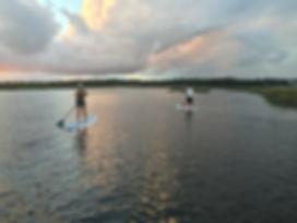 Oak Island Standup Paddle Board Tours