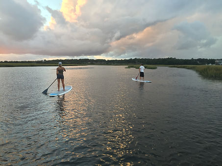 Oak Island Standup Paddle Board Tours