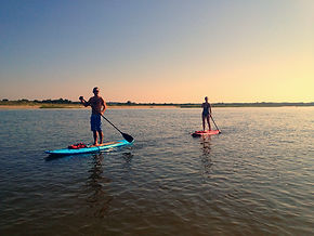 Oak Island NC Hourly Stand Up Paddle Board Rentals