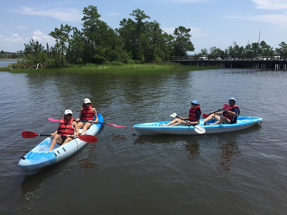 Oak Island Kayaks