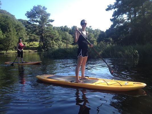 Paddle Boarding Oak Island