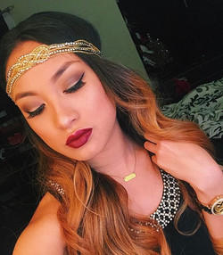 💄Lips_ Kylie Koko Collection in Gorg__ Anastasia dipbrow pomade_ chocolate__ Eyeshadow_ Morphe 35O_
