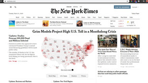 COVID-19 Stay Informed With The NY Times For FREE Using Your LA City Library Card