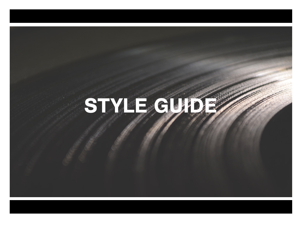 Style Guide by Ingrid Dietrich