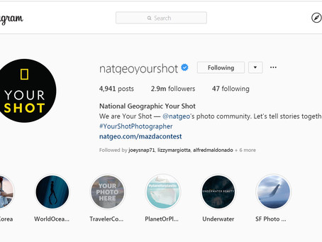 Nat Geo Your Shot Has Moved To Instagram