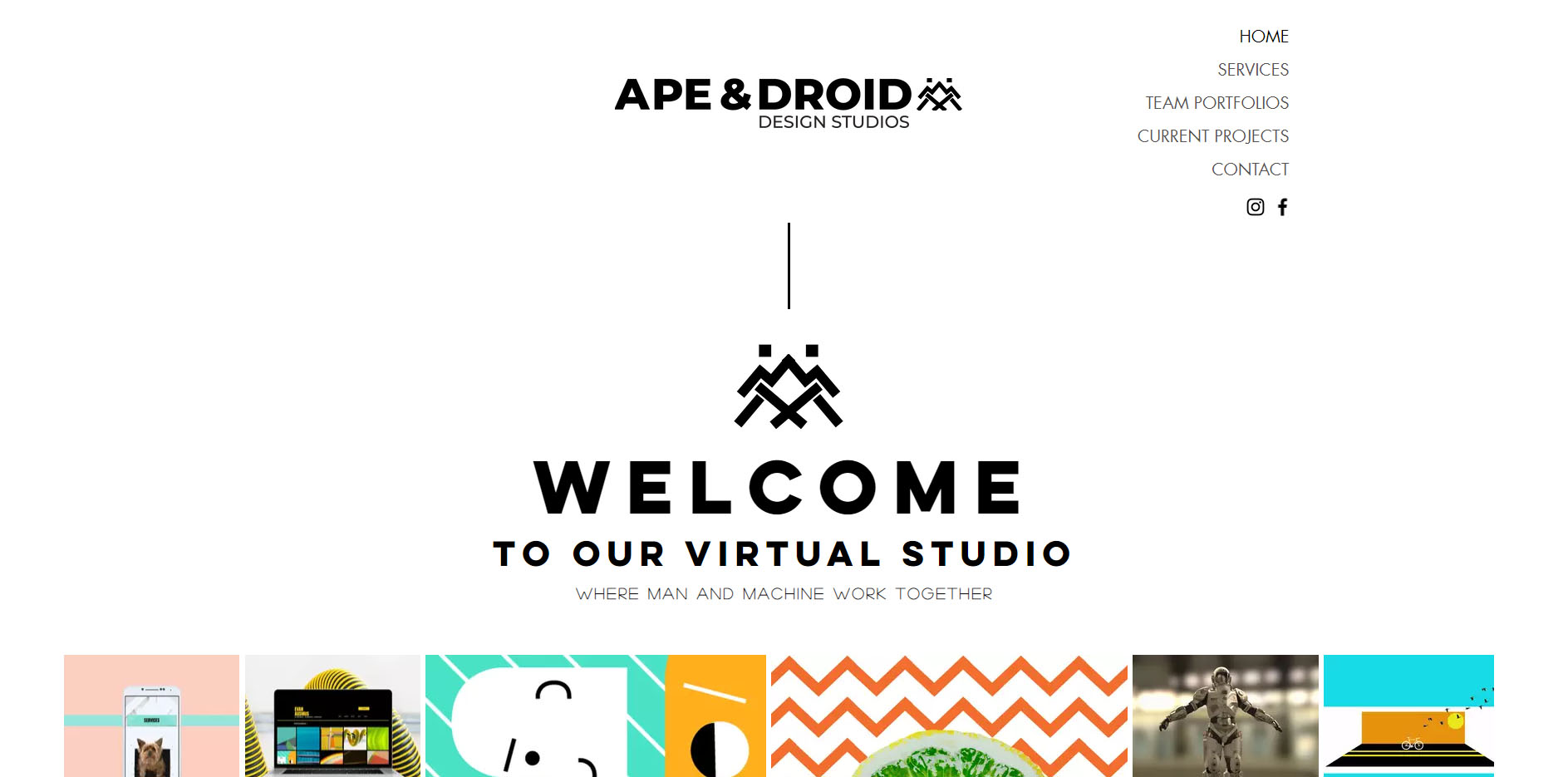 Ape and Droid Studios Logo Design