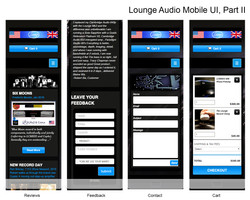 Lounge Audio Mobile Site II