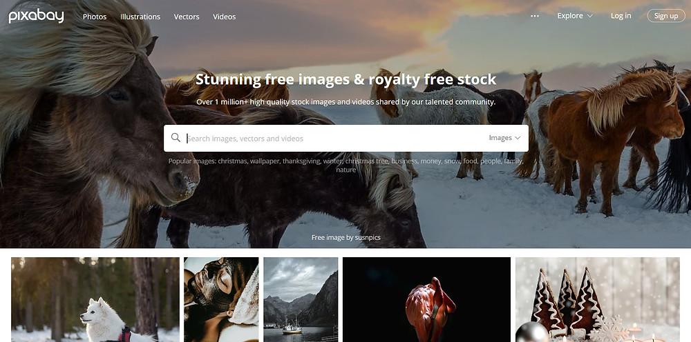 Pixabay free photography