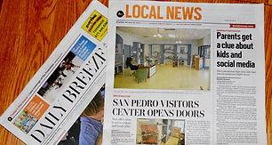 Ingrid Dietrich publications, Daily Breeze
