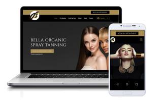Bella Organic Spray Tanning