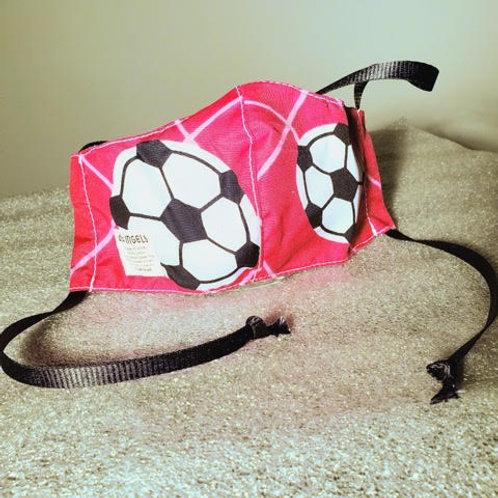 Pink. Soccer. Female Child. Ribbons
