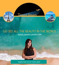 Travel Smart Logo Design