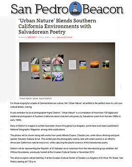 Ingrid Dietrich publications, San Pedro Beacon