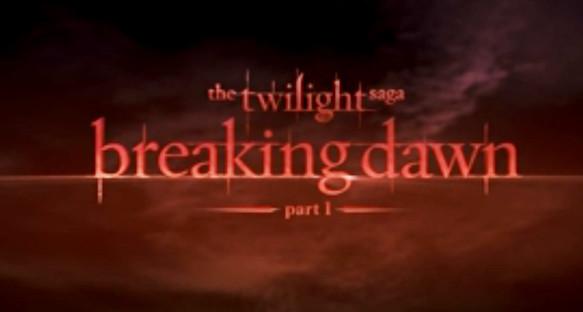 The twilight Saga, Breaking Dawn, Part I